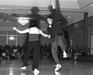 Matt & Naomi performing Frenesi at ALHC 2001